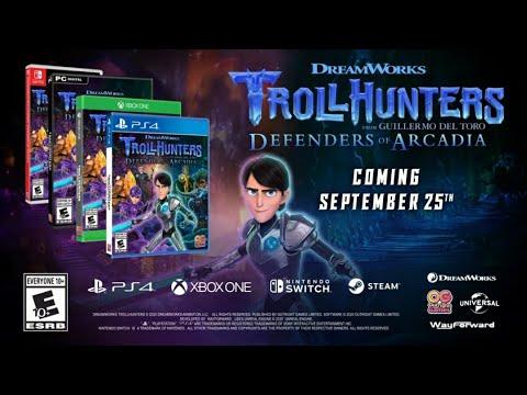 💥Troll Hunters - El Video Juego ( Defensores De Arcadia ) Outright Games