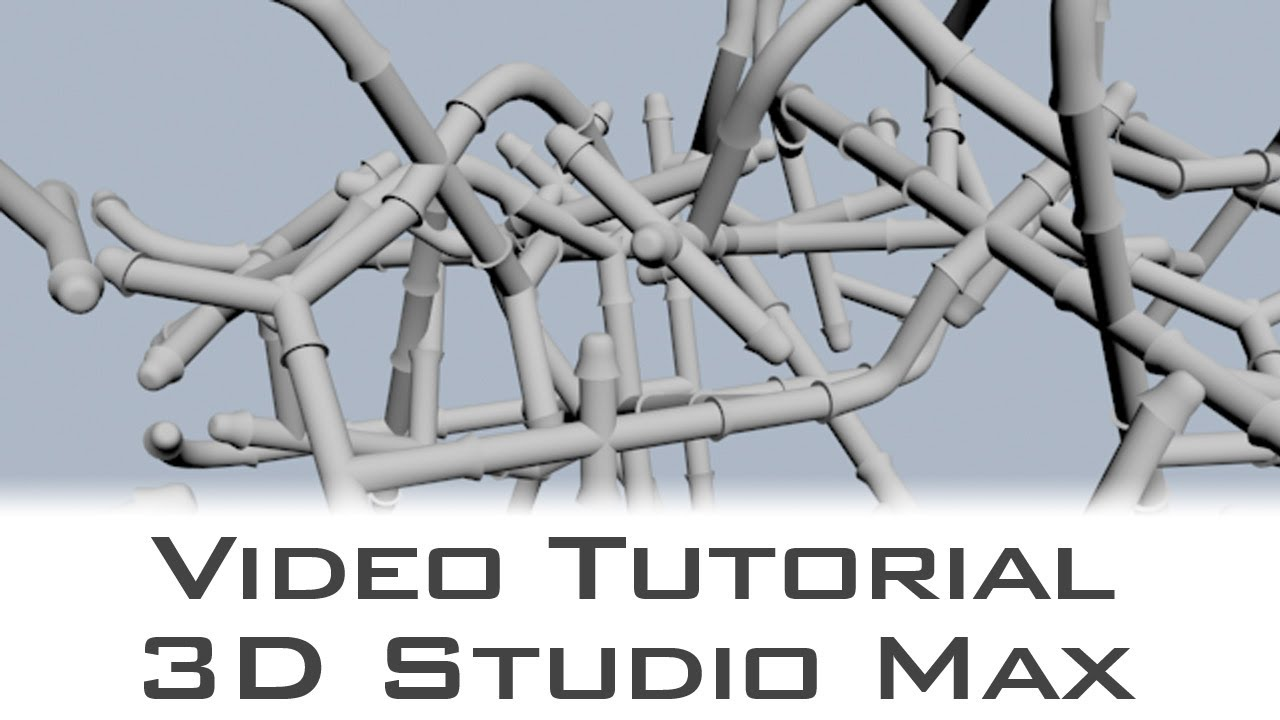 Tutorial Pipe Generator Script For 3d Studio Max Youtube Hvac Duct Drawing In Autocad