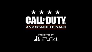 anz stage 1 finals call of duty world league presented by playstation 4