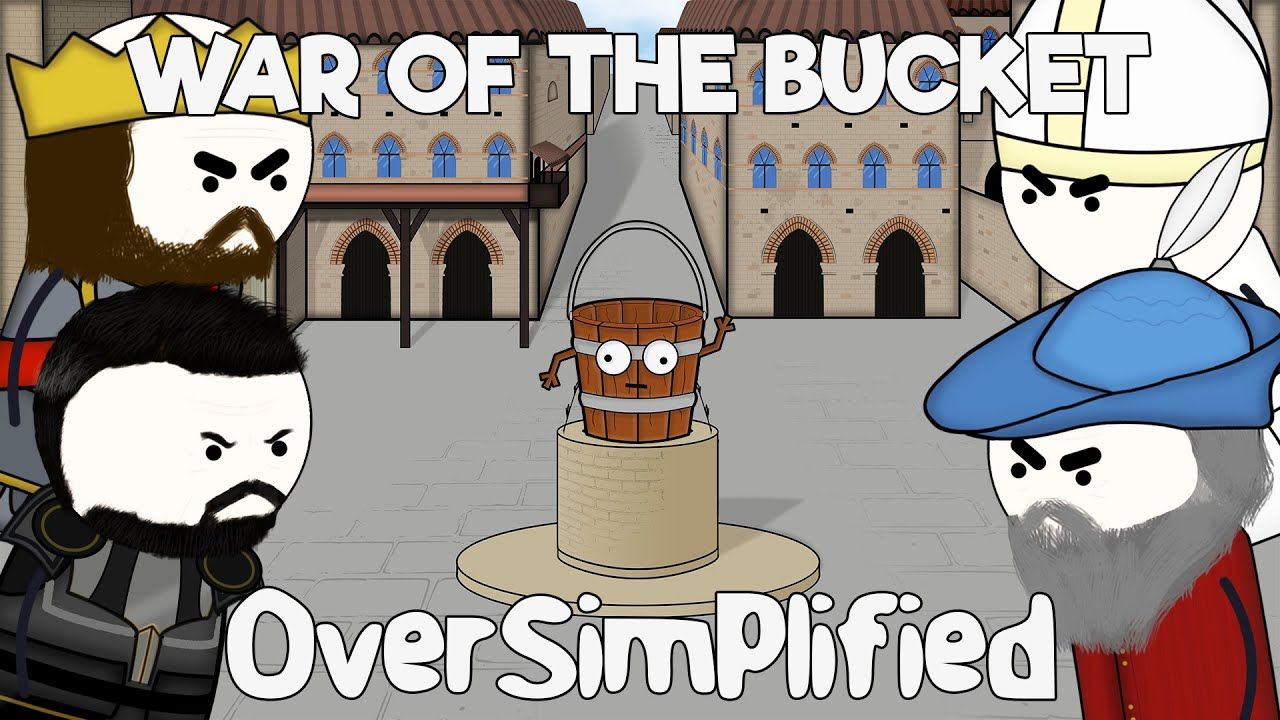 The War of the Bucket - OverSimplified image