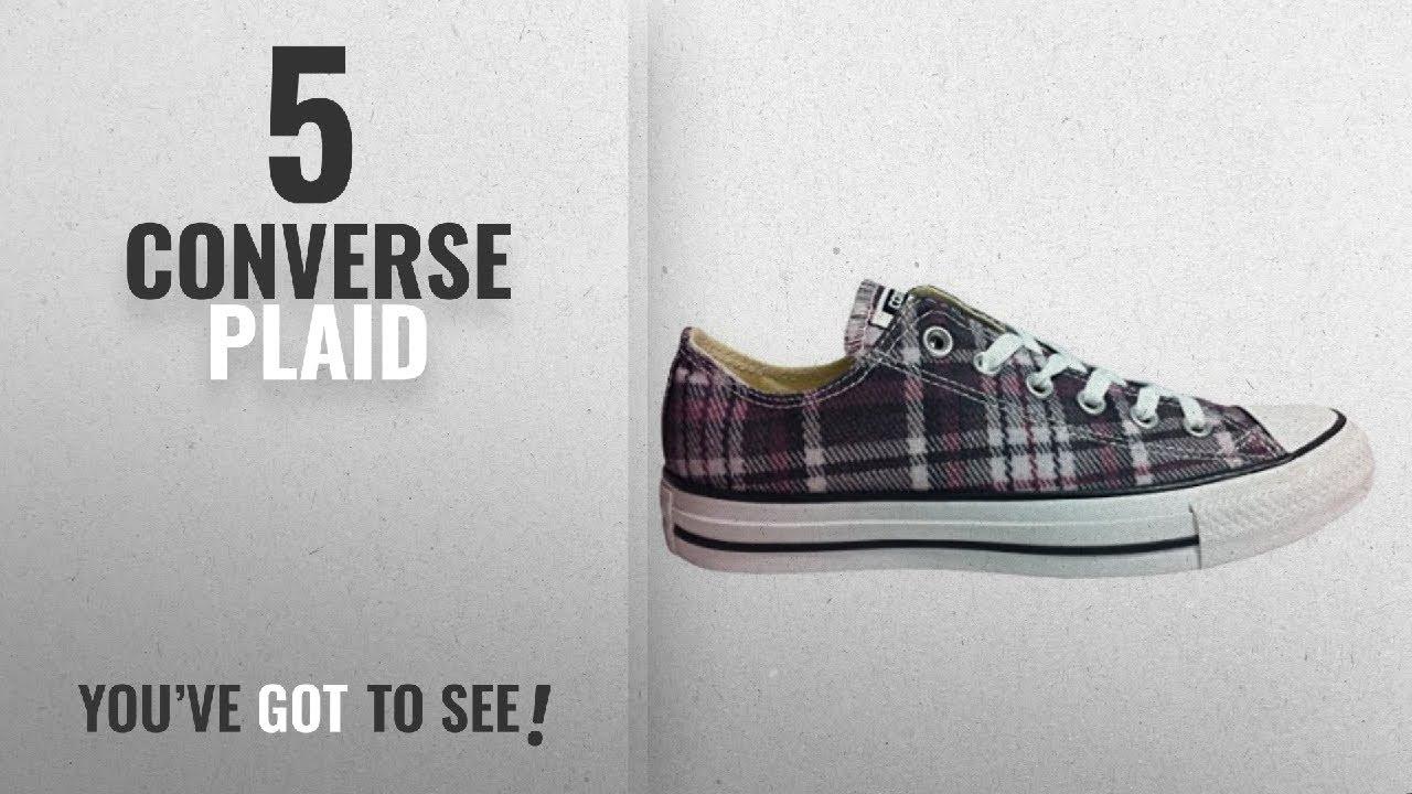 Top 5 Converse Plaid  2018   Converse Unisex Shoes Chuck Taylor Ox ... a91ab6fc901