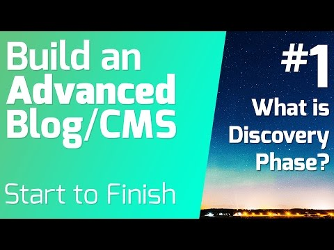 What is the Discovery Phase? - Building Advanced Blog/ CMS from Start to Finish (Episode 1)