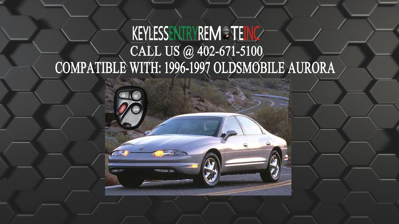 how to replace oldsmobile aurora key fob battery 1996 1997 [ 1920 x 1080 Pixel ]