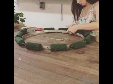 How To Make A Fl Chandelier Part 1