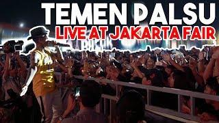 Download Mp3 Temen Palsu Ft Afrogie - Live At Jakarta Fair 2k19