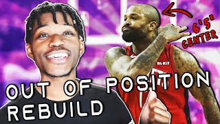 Out of Position Rebuilding Challenge in NBA 2K20