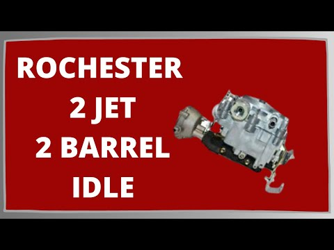 Rochester 2 jet Idle Circuit