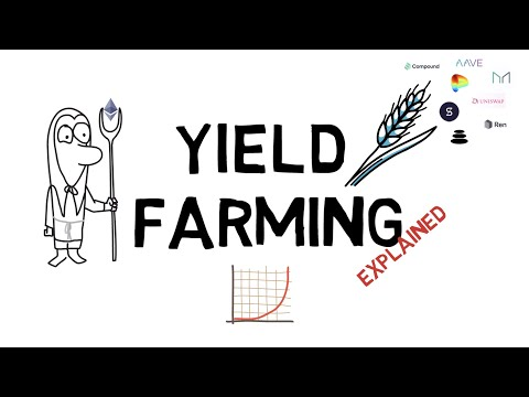 What Is YIELD FARMING? DEFI Explained (Compound, Balancer, Curve, Synthetix, Ren)