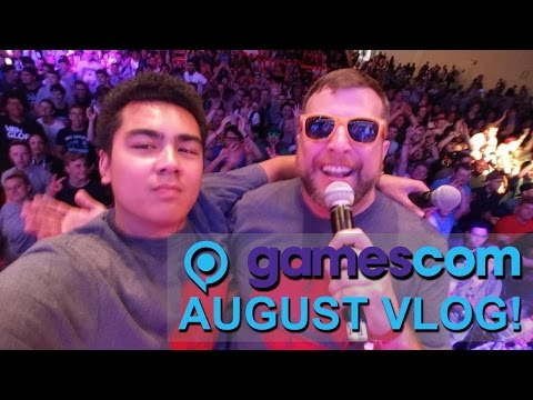 Gamescom Behind the Scenes and Nicky's Vacation in Japan! - August Vlog