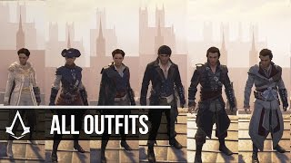 Assassin's Creed Syndicate - All Outfits for Evie & Jacob Frye (How to Unlock) Showcase