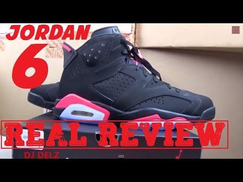 c23a051a01ba09 2014 Air Jordan Black Infrared 6 VI Shoe VS 2000 VS 2010 Review With ...