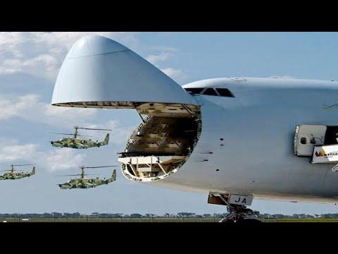 Die Größten Militärflugzeuge der Welt!