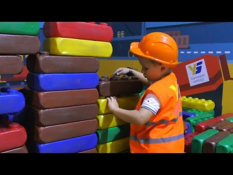 Roma Pretend Play Professions for Kids Funny Story in the Children&39;s museum