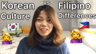 DIFFERENCES BETWEEN FILIPINO and KOREAN CULTURE