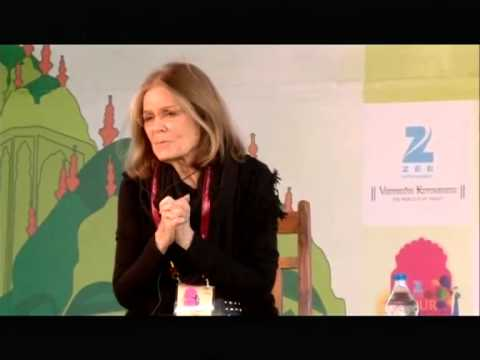 #JLF 2014: The Essential Gloria Steinem