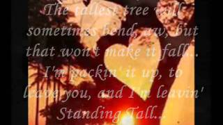 """Standing Tall"" W/Lyrics Lorrie Morgan"