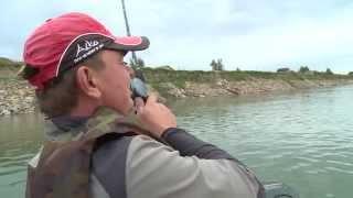 Джиг на большой реке. Ловля щуки в Новосибирске с лодки. Урок №2