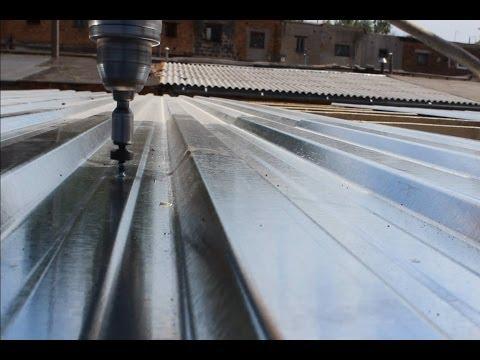 Крыша из профнастила  на гараж, своими руками. Часть 3 финал.