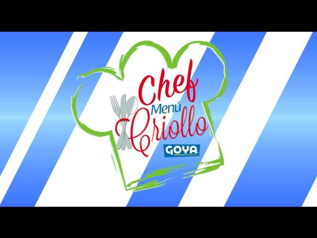 Primera parte de la Competencia El Chef Menú Criollo Goya