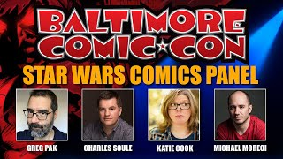 Star Wars Comics Panel at Baltimore Comic Con