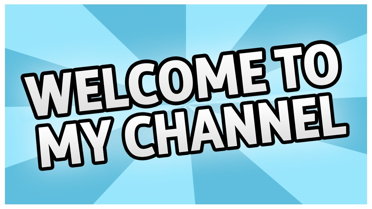 Hello I'm BroBoyGamer. Welcome to my channel - YouTube