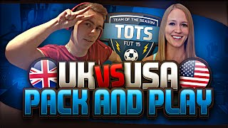 TOTS UK VS USA PACK AND PLAY
