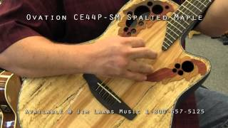 Baixar Ovation CE44P-SM Spalted Maple Acoustic Guitar Demo Video
