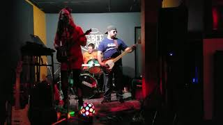 """SHOOK ME ALL NIGHT LONG"" AC/DC-COVER BY THE FAMILY FRIENDLY CRIMINALS. 11/30/18 @THE BEE TAVERN"