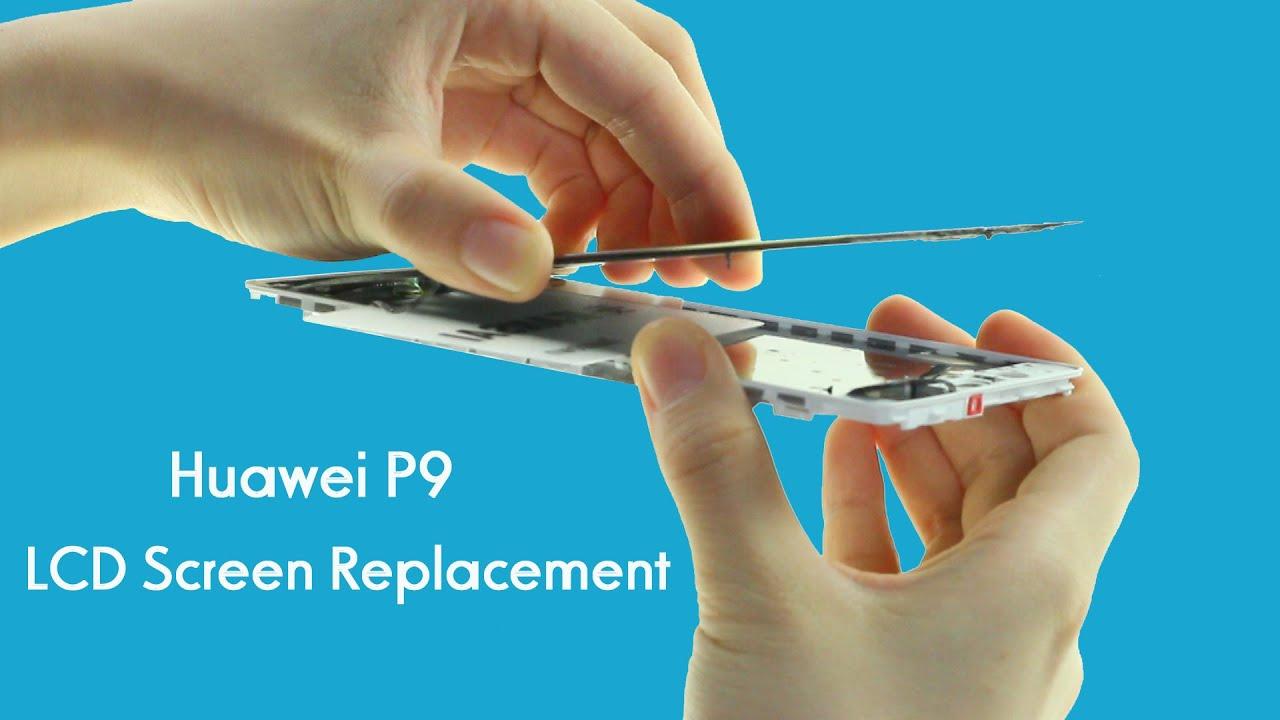 Huawei P9 Cracked LCD Screen Repair - Replacement Tutorial