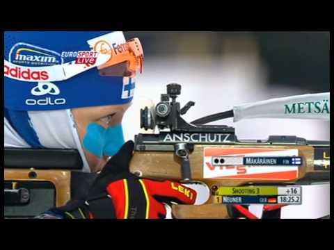 Magdalena Neuner & Kaisa Mäkäräinen - 2011 World Championships pursuit