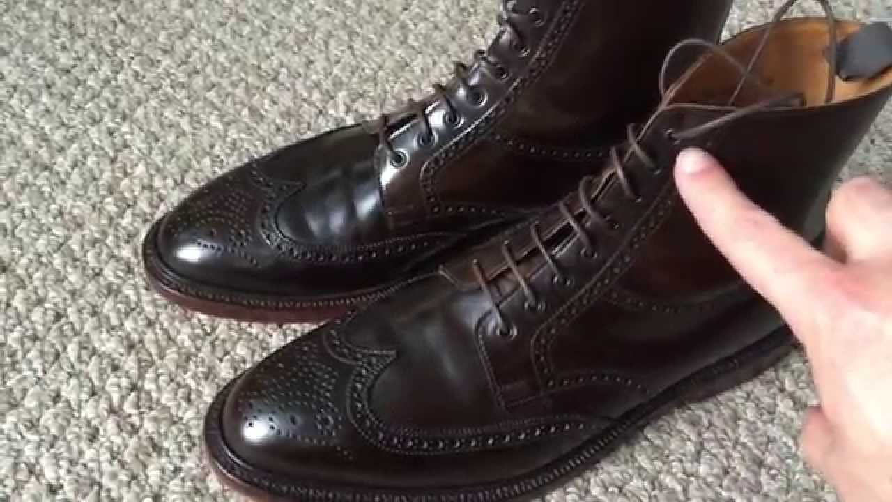 Ralph Lauren Lindrick Shell Cordovan Wingtip Boot Review