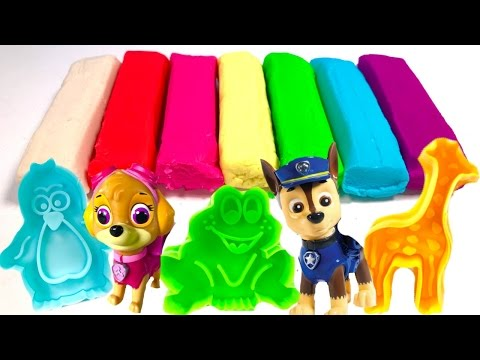 Thumbnail: Best Learning Video for Children - Paw Patrol Fun with Play Doh Animals