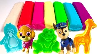 Best Learning Video for Children  - Paw Patrol Fun with Play Doh Animals