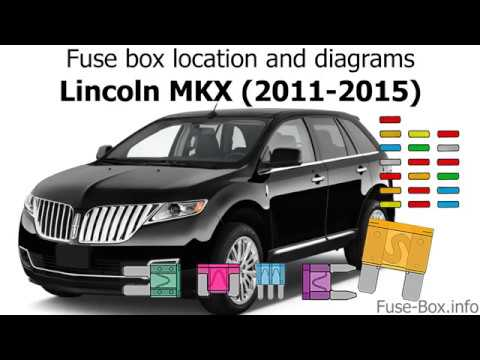 fuse box location and diagrams: lincoln mkx (2011-2015)
