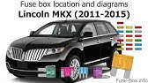 Fuse Box Location And Diagrams Lincoln Mkz Hybrid 2011 2012 Youtube
