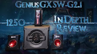 Genius GX SW-G2.1 1250 Gaming Speaker System In Depth Review
