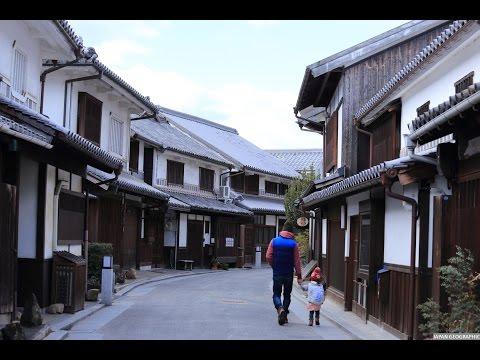 JG 4K 岡山 倉敷の街並(重伝建,重文) Okayama,Kurashiki(Historic District,Cultural property)