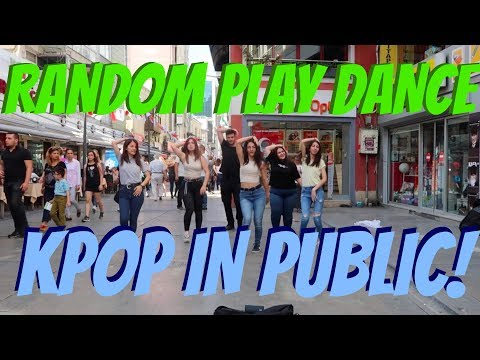[KPOP IN PUBLIC] RANDOM PLAY DANCE CHALLENGE in TURKEY, IZMI