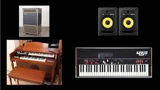 Hammond Organ vs. Crumar Mojo