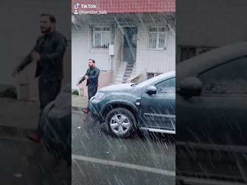 Turkey snowfall enjoy