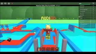 PLAYING ROBLOX OBBY WIPEOUT BY ADRIAN BROWN