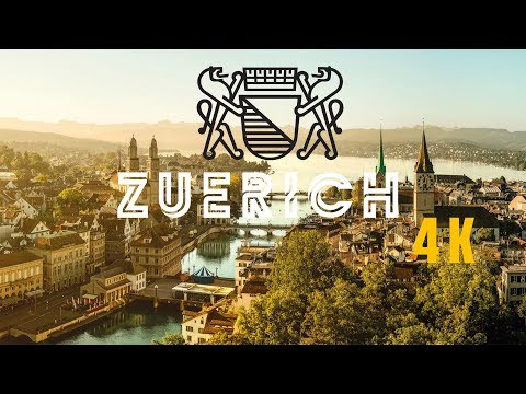 Switzerland Zürich part 3 in 4K | Drohne Video | Dji Phantom 4 Professional