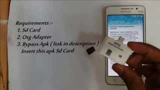 Disable   Bypass Google Account Lock on any Samsung phone ( FRP Bypass )