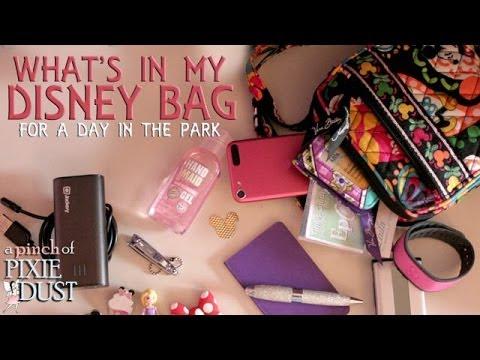 What S In My Disney Park Bag