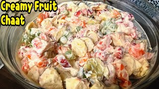 Creamy Fruit Chaat By Yasmin's Cooking