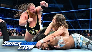 Xavier Woods vs. Otis vs. Daniel Bryan – Triple Threat Match: SmackDown LIVE, July 9, 2019