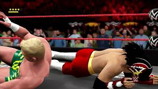 【WWE2K17】 【不死鳥】ハヤブサ VS  【ジ・エアリアル・アサシン】ウィル・オスプレイ 真夏のG1トーナメント Bグループ1回戦