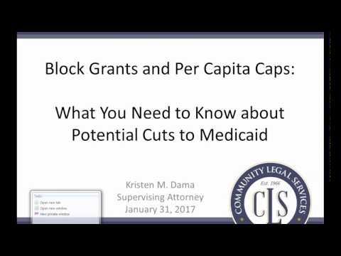 Threats to Medicaid: Block Grants & Per Capita Caps