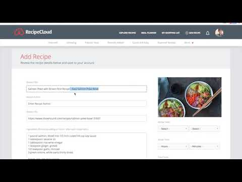 Web App Series: Formatting your recipes