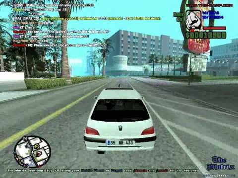 GTA  San Andreas Peugeot 106- Tenerife